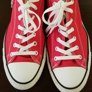 RED Converse All Star Sneakers Unisex Pre-owned